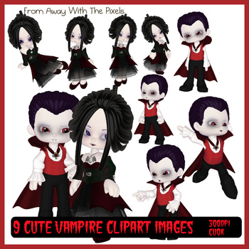 9 Vampire Clip Art Images for Halloween and Other Spooky Occasions