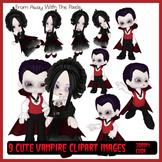 9 Vampire Clip Art Images for Halloween and Other Spooky O