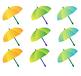 9 Vector Umbrellas, Design Elements