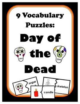 9 Vocabulary Puzzles: Day of the Dead
