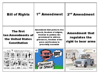 9 Vocabulary Rights of American Citizens