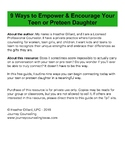 9 Ways to Empower and Encourage Your Preteen Daughter