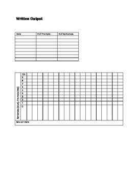 9-Week Data Sheets Package