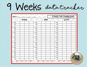 9 Week Test Tracker