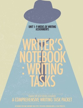Unit 1: 9 Weeks of Writer's Notebook Tasks