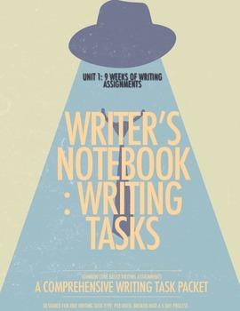 Unit 1: 9 Weeks of Writer's Notebook Tasks
