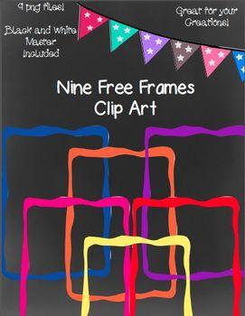 Nine Free Color Frames