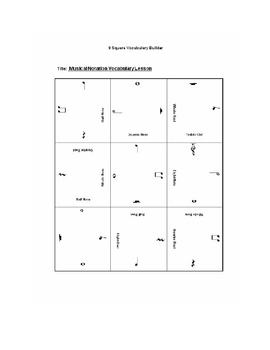 9 square- Musical Note Value