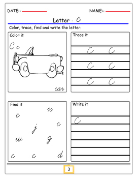 TRACE 90 ALPHABET AND SIGHT WORDS pages bundle