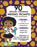 90 African Centered Writing Prompts for Grades 4 & 5, Fict