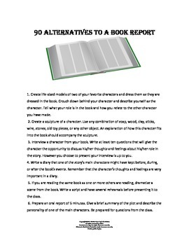 90 Alternatives to the Book Report
