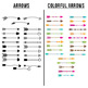 90+ Arrows Clipart Mega Bundle, Tribal Arrow Clipart, Rustic Arrows, Arrow SVGs
