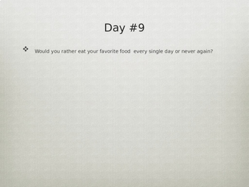 Journal Prompts--90 Days