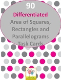 90 - Differentiated Area of Squares, Rectangles, and Paral