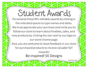 90+ Editable Student Certificates - Creative & Traditional Awards - Printables