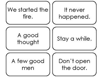 90 Fry's Sight Word Phrases Third Hundred List Flashcards. Preschool-4th Grade.