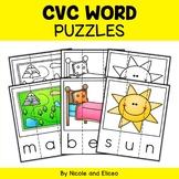 CVC Word Activity Puzzles