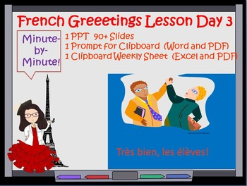 French Greetings Lesson Day 3