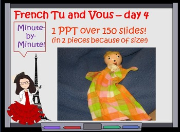 French  vous tu differences  Lesson Day 4 Greetings First Week