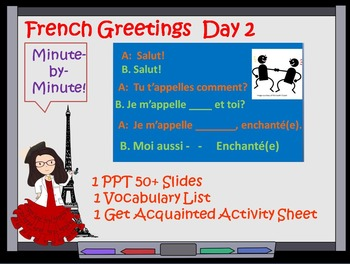 French Greetings Lesson Day 2