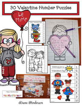 90 Valentine's Day Number Puzzles With a Twist