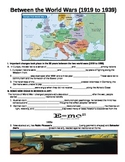 WORLD UNIT 12 LESSON 1. WWII#1: Between The World Wars GUIDED NOTES