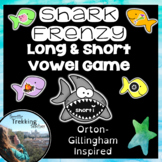 90+ Words - Shark Frenzy Long & Short Vowels Game! Orton-G