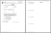 9007z - Solving Equations (absolute value & simple quadratic)