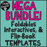 1,564 Foldables, Interactives, Flip Book Templates * GROWING BUNDLE
