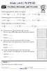 9.1 Fractions, Decimals, and Percents- Everyday Math, Grade 4