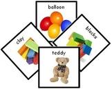 91 Toys Photo PECS Cards. Photographic Picture Exchange Communication