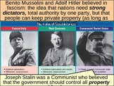 WORLD UNIT 12 LESSON 2. WWII#2: Totalitarian Dictators POWERPOINT