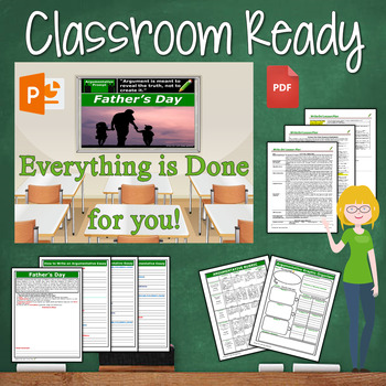 Father's Day Writing BUNDLE - Argumentative, Persuasive, Expository, Narrative