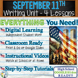 9/11 Writing BUNDLE! - Argumentative, Persuasive, Expository, Narrative