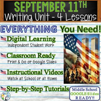 9/11 Writing BUNDLE! - Argumentative, Persuasive, Exposito