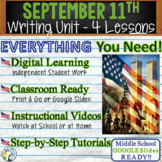 9/11 Writing BUNDLE! - Argumentative, Persuasive, Exposito