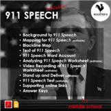 911 Speech {Digital & PDF}