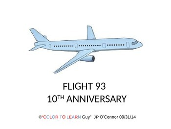 9.11 Terrorism, 10th Anniversary Flight 93