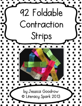92 Foldable Contraction Strips