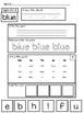 92 PAGES Kindergarten Sight Work Worksheets or Morning Work