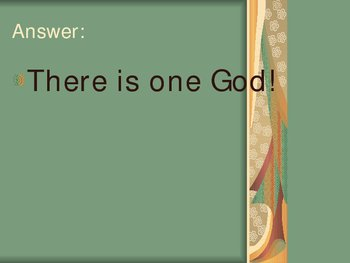 92 Questions Catholic Power Point