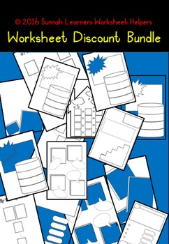 93 Discount worksheets Bundle