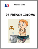 94 French idioms, French immersion, Core French (#252)