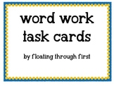 94 Word Work Task Cards