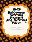 95 Halloween Writing Prompts & Paper
