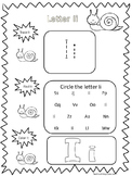 95 Spring themed Alphabet and Numbers No Prep Worksheets