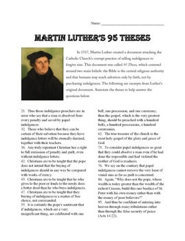 Martin Luther   the 95 Theses  Lesson for Kids   Study further Penalty Focus   Student Essay Contest Southeastern   Student further  in addition  additionally Reformation   Mr  Leverett's World History further Martin Luther 95 Theses Worksheet   Geotwitter Kids Activities in addition Martin Luther 95 Theses Worksheet   FREE Printable Worksheets in addition Martin Luther Tweets His 95 Theses  The Protestant Reformation besides  additionally Martin Luther  the 95 Theses and the Birth of the Protestant together with Protestant Reformation Lesson Plan High Lovely 149 Best together with Martin Luther's 95 Theses   ReasonableTheology org also Martin Luther   Scoil furthermore Martin Luther Birthday Archives   Curiousmind co Fresh Martin Luther further Protestant Reformation Worksheet   Free Printables Worksheet moreover 95 Theses Primary Source Worksheet by Nicole Jurka   TpT. on martin luther 95 theses worksheet