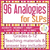 Analogies & Teaching Materials for SLPs