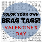 208 Brag Tags for Valentine's Day in English