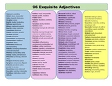 96 Exquisite Adjectives